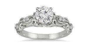 Groupon Stores Nyjewelz Unique Diamond Wedding Bands Art Deco Diamond Rings Vintage Diamond Rings