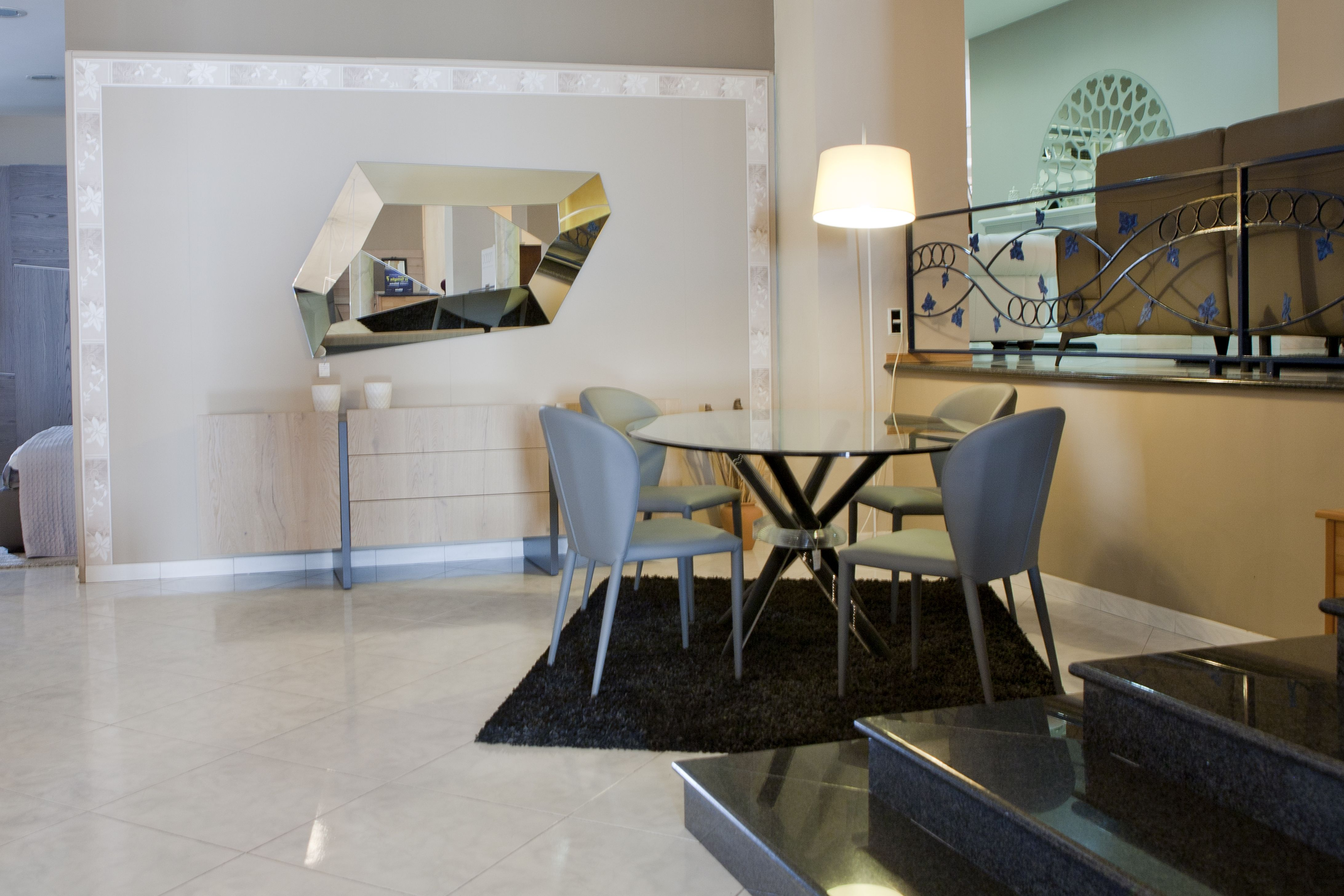 madia #arredamento #living #interni #ideas #showroom #shabby ... - Living Soggiorno Cucina