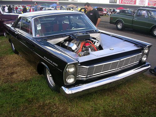 1965 Ford Galaxie My 500 Did Not Look Like This Mine Had A Hole