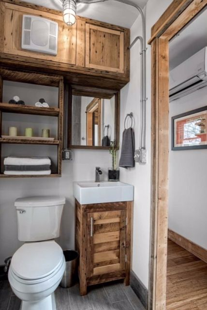 Coolest Bathroom Ever fabulous bathroom! attn tiny house hunters container homes