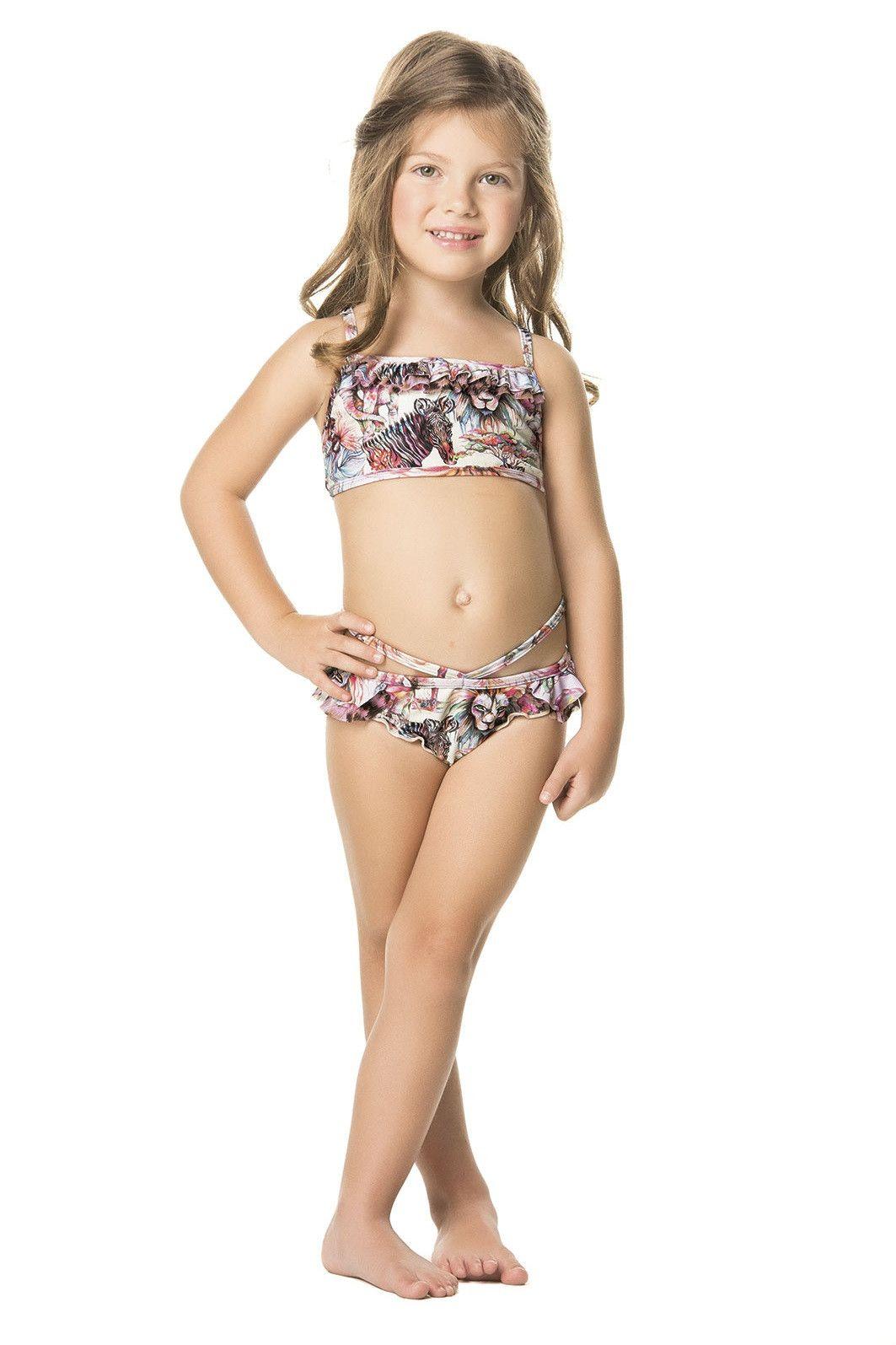 Bikini girl wild
