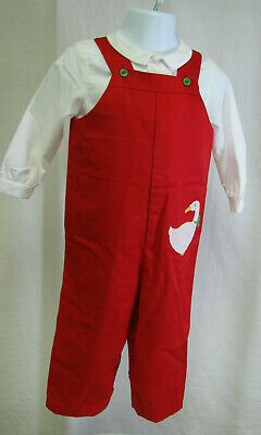 Vintage Toddler boys Lisa Jackson 1 PC red jumpsuit w/shirt XL 22-26 lbs #fashion #clothing #shoes #accessories #baby #babytoddlerclothing (ebay link)