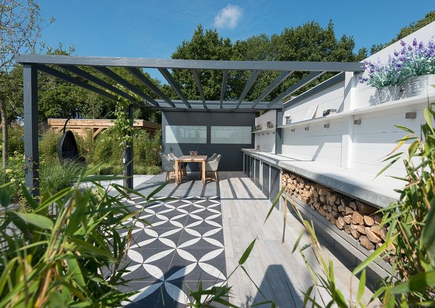 Binnen buiten tuin balcony in 2018 pinterest for Jardineria al aire libre casa pendiente
