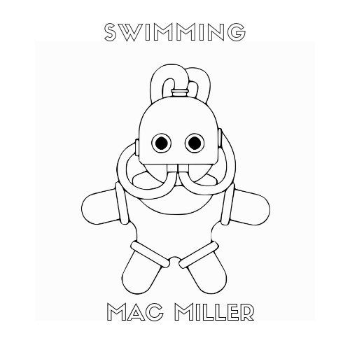 Swimming Mac Miller Tattoos Mac Miller Rapper Art