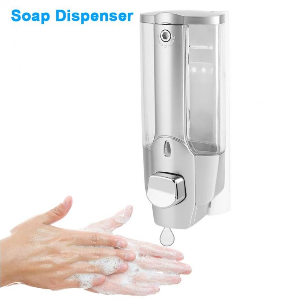 Bath Soap Shampoo Dispenser 350ml Wall Mount Shower Liquid Soap
