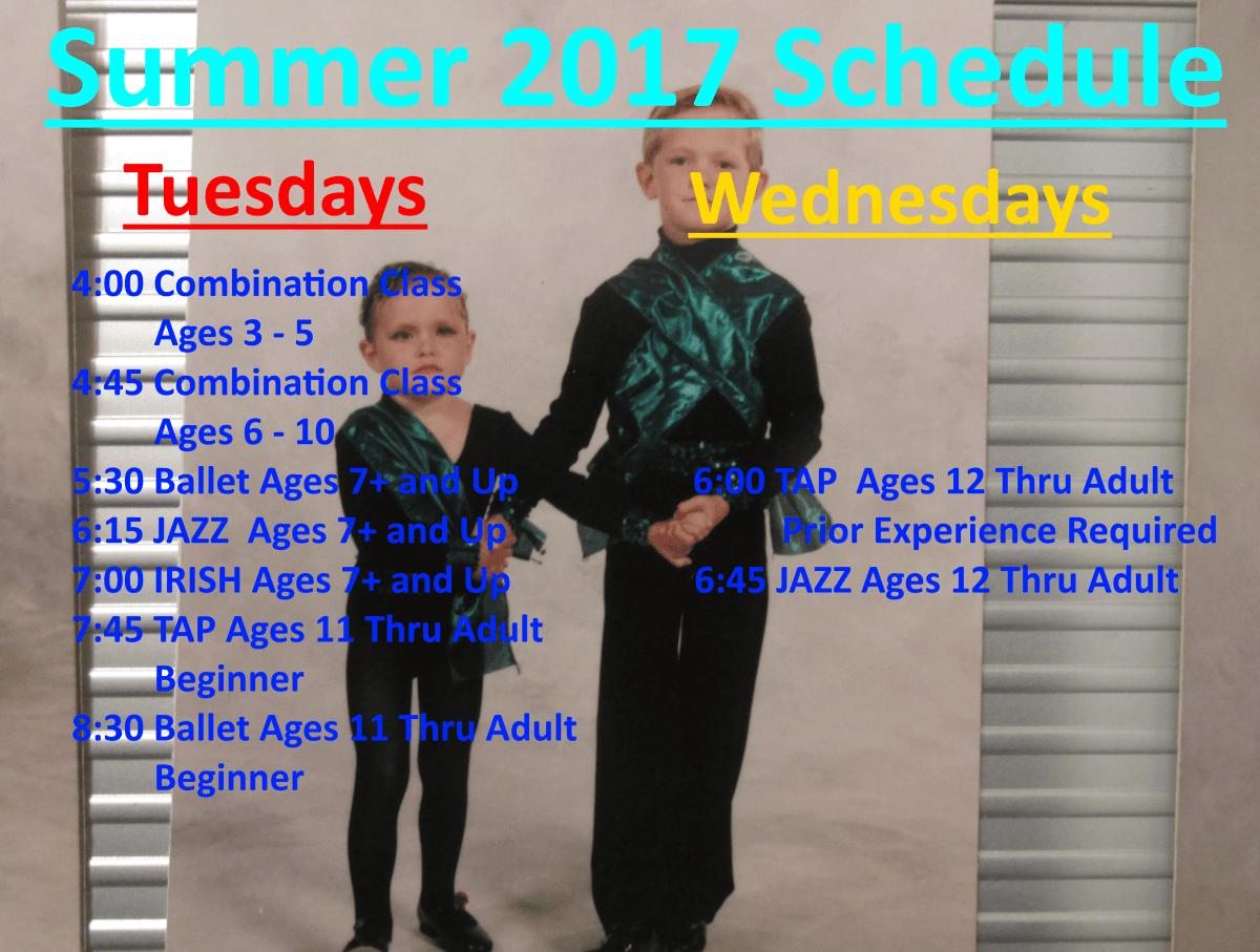 Summer 2017 Sign Up Now Summer 2017 Summer Dance Class