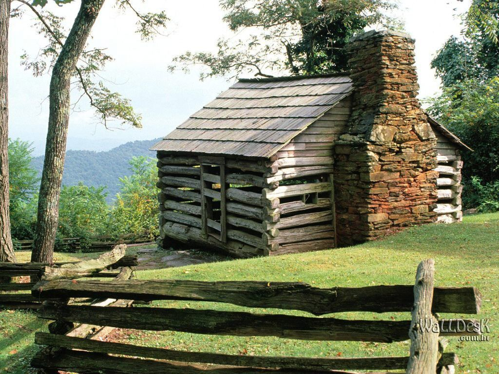 Image detail for log cabin blue ridge parkway virginia for Appalachian mountain cabins