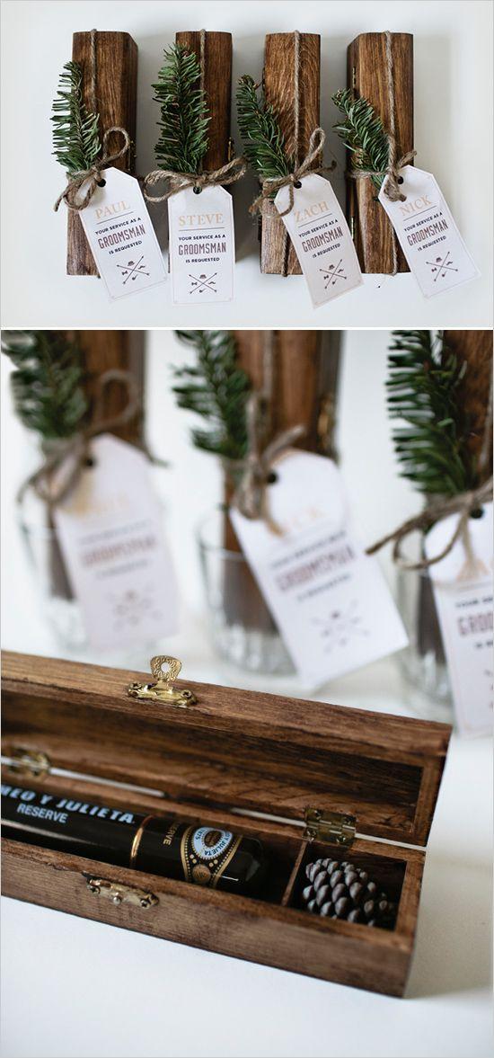 Best Wedding Gifts For Groomsmen: DIY Gift For The Fellas