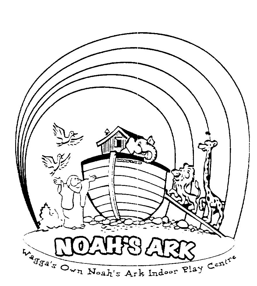 Free coloring pages noah's ark
