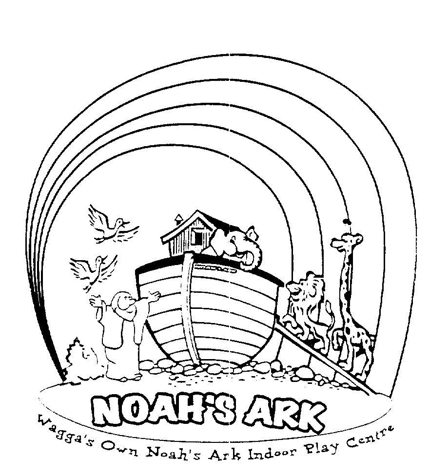 Noah Ark Rainbow Coloring Pages  Noahs ark coloring page, Noahs
