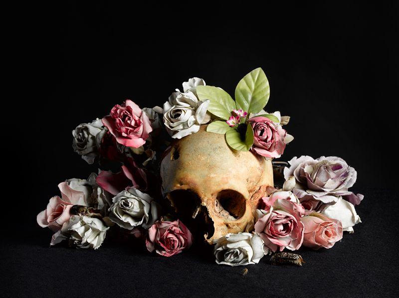 фотографии череп с цветами сборная