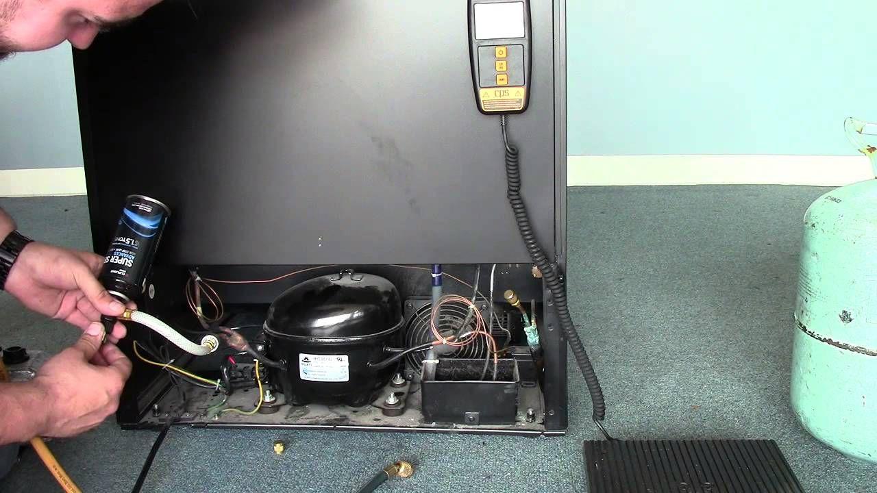 danby wine cooler repair recharging