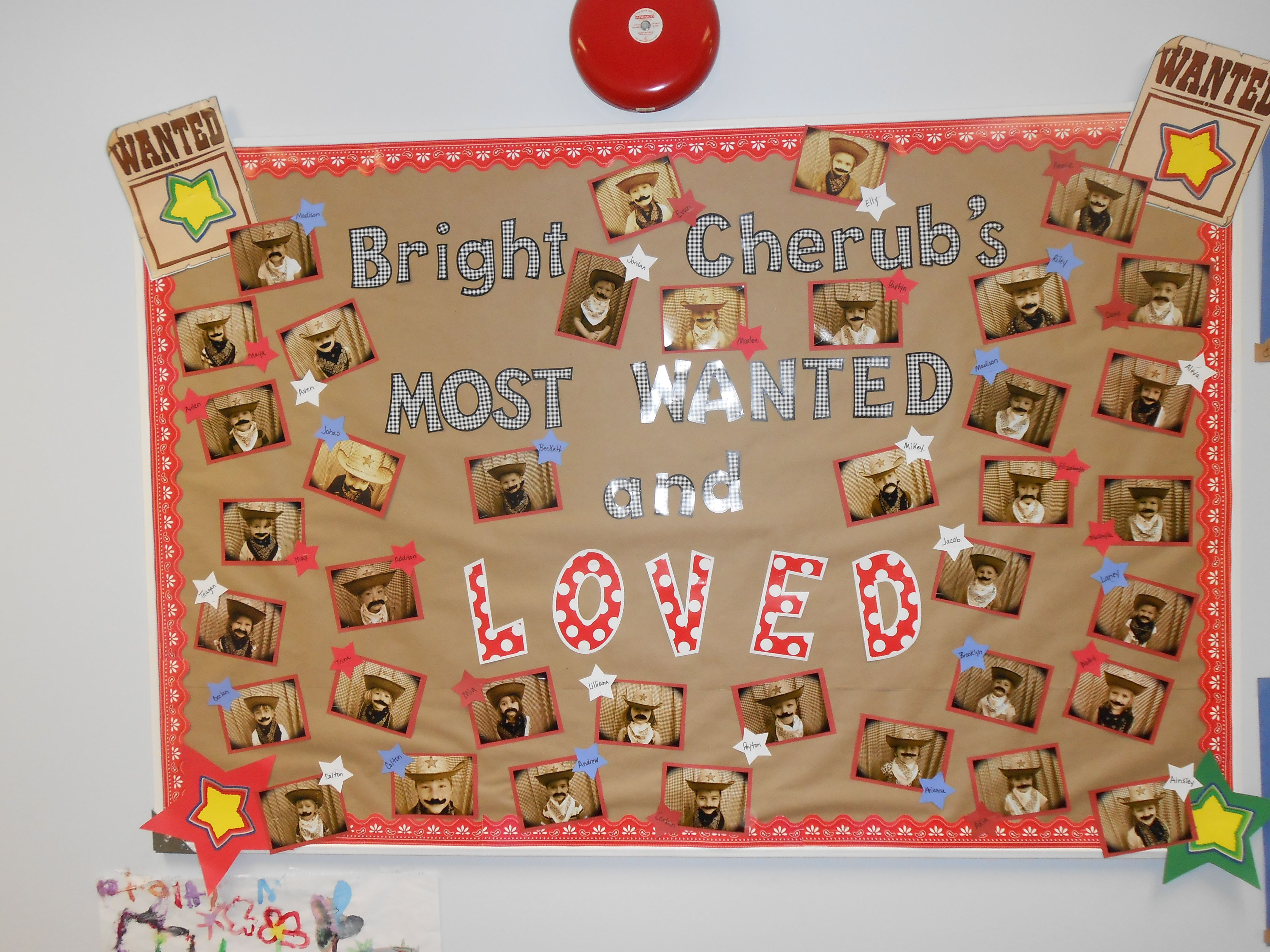 Western Preschool Bulletin Board
