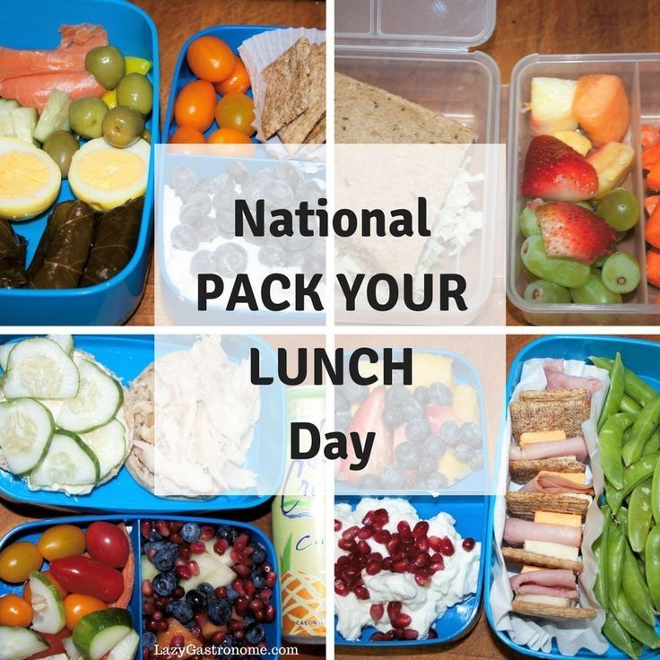 Pin by Karen Holzer on Special Days in 2020 Lunch, Food