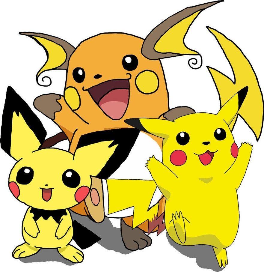 Pokemon pichu evolution picture pokemon pikachu raichu and - Pokemon x raichu mega evolution ...