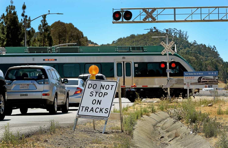 SonomaMarin Area Rail Transit train service is starting