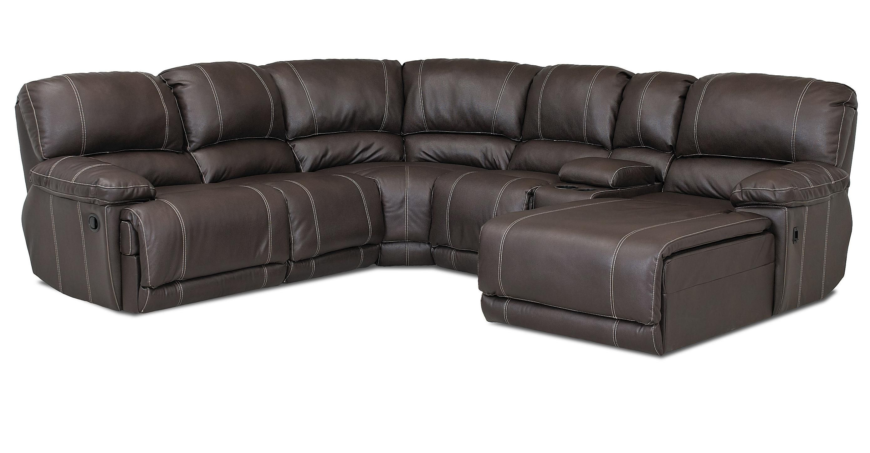 Derek Casual Reclining Sectional Sofa by Klaussner