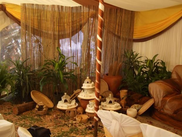 Traditional wedding decor ideas south africa