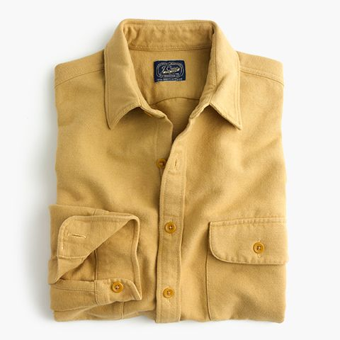 J Crew Gift Guide Men S Heavyweight Chamois Shirt