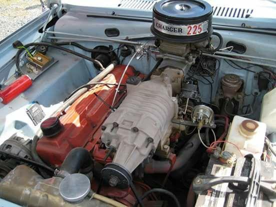 Gm 3 8 Eaton Supercharger On Slant 6 Supercharger Mopar Eaton Supercharger