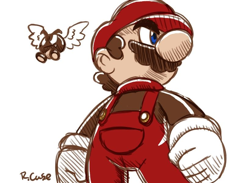 Mario maker doodle thing by rongs1234 on DeviantArt