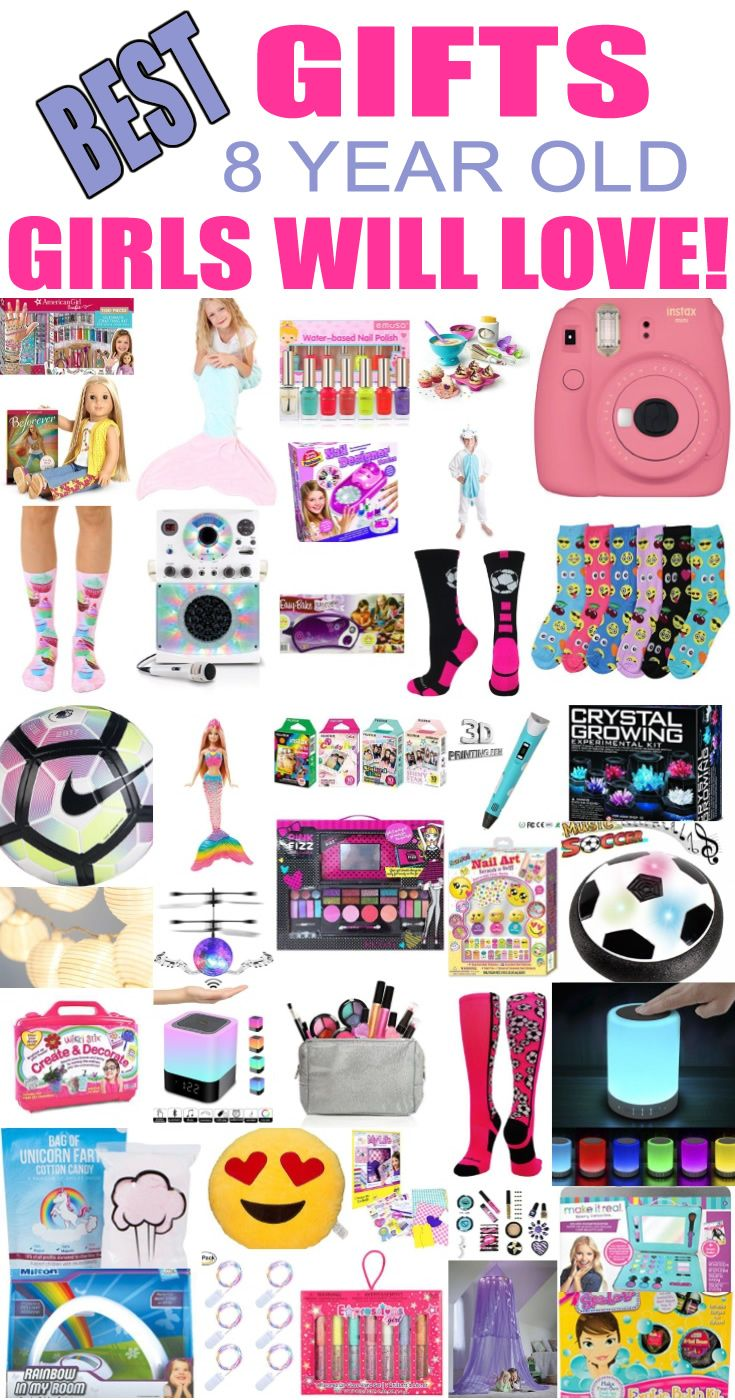 Best Gifts For 8 Year Old Girls Little Girl Gifts Tween