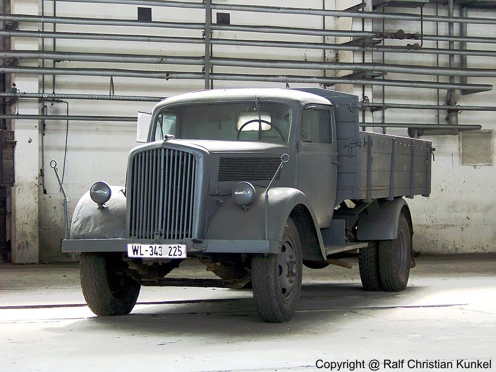 Opel Blitz Typ 3,6 - LKW der Wehrmacht … | Pinteres…