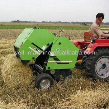 Source High quality mini hay baler for sale/mini round hay