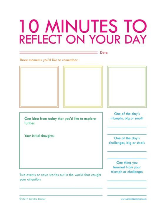 Free Printables - CHRISTIE ZIMMER guided journals for insight and