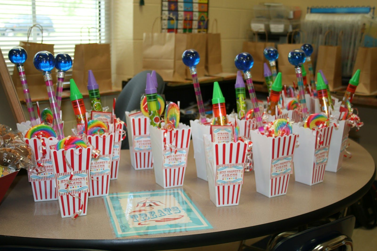 Birthday Celebration In The Class Kindergarten