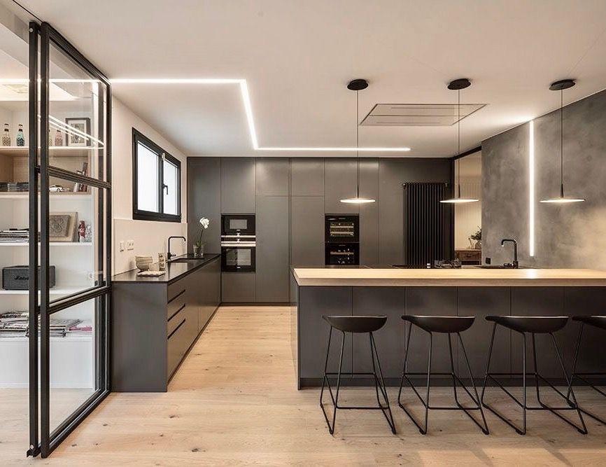 cuisines modernes ouverture conception lente ides dclairage trucs de cuisine ides de cuisine salle manger et cuisine intrieur de luxe