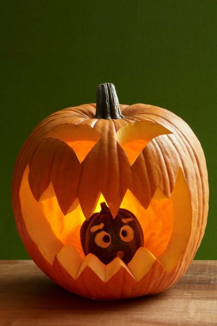 40 Classy Halloween Pumpkin Carving Ideas