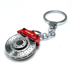 High Quality Usa Golden Rim Wheel Metal Keychain Auto Enthusiastic Toy Gagdet - фото 11