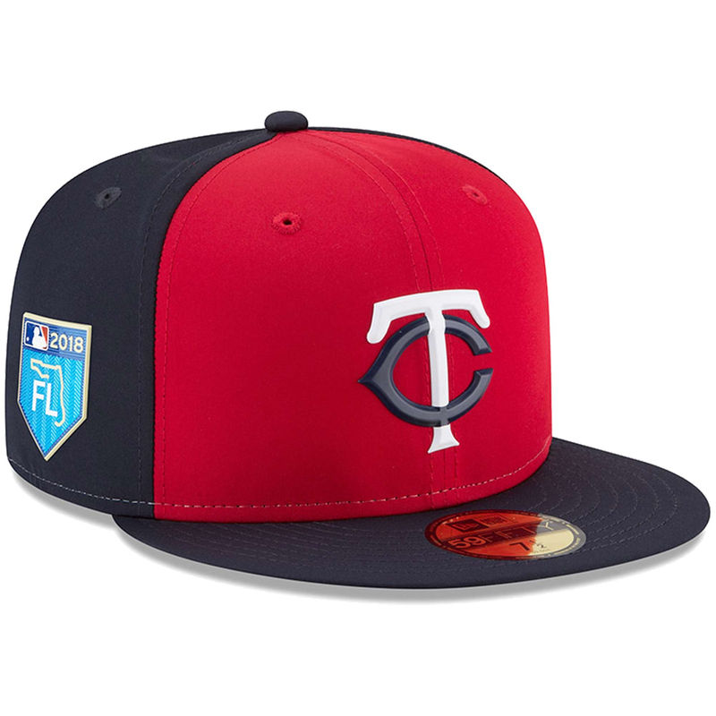Minnesota Twins New Era 2018 Spring Training Collection Prolight 59FIFTY  Fitted Hat – Red 26471a2c11c3