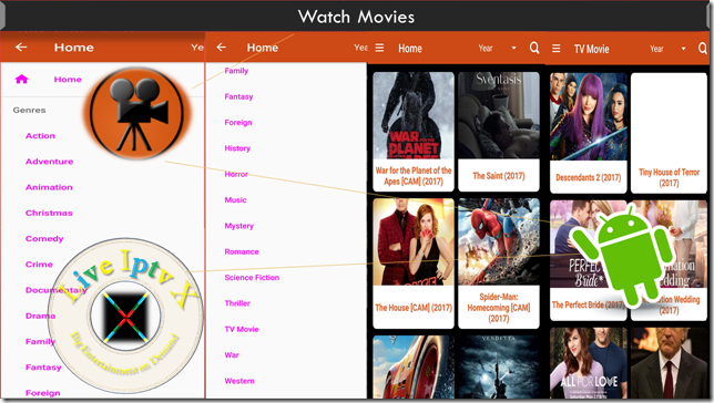 Watch TV Stream Online Latest Movies APK For Android