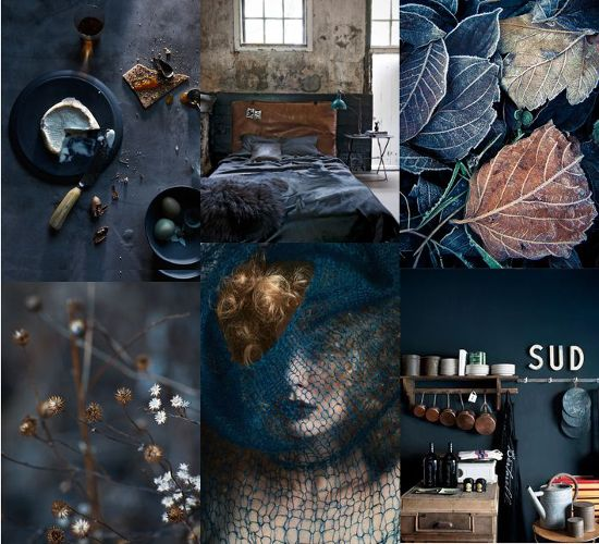 MONDAY MOOD BOARD⎬DARK & WARM