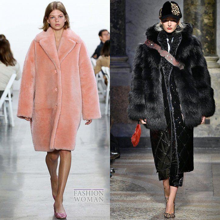 Модные меховые пальто 2019 изоражения