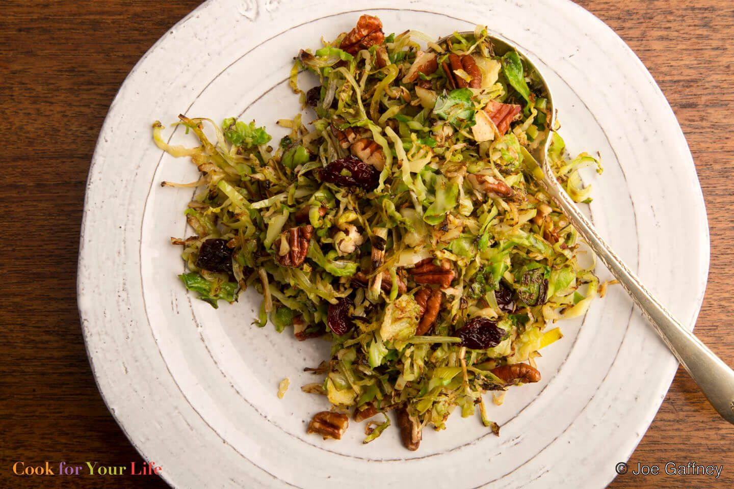 Brussels sprouts with pecans dried cherries brussel