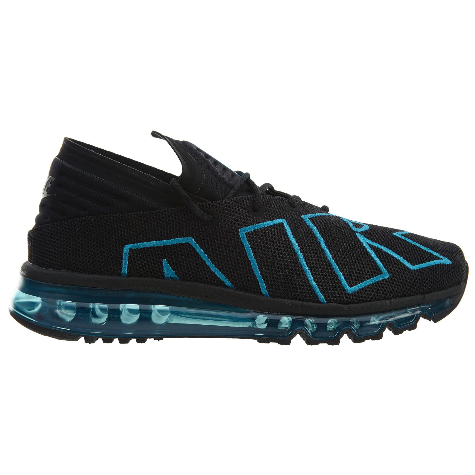 NIKE AIR MAX FLAIR BLACK NEO TURQUOISE BLACK. #nike #shoes