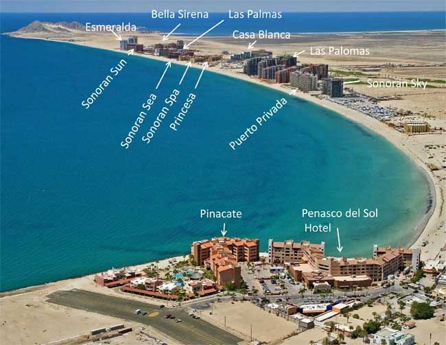 Sea Of Cortez Resorts Rocky Point Puerto Co Real Estate Mexico