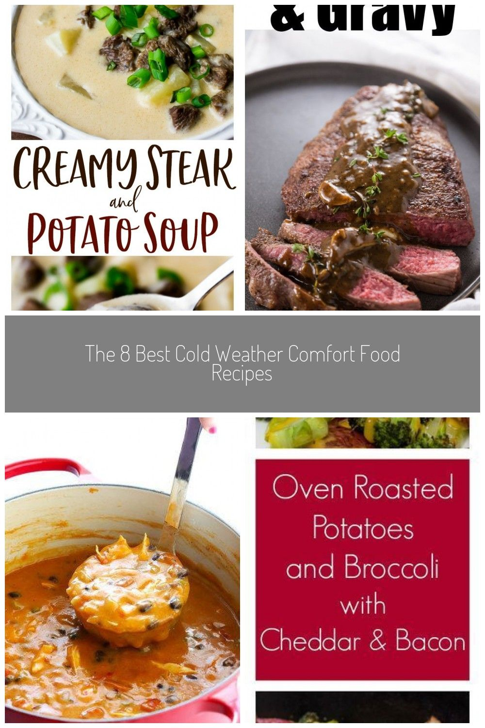 Creamy Steak and Potato Soup - the perfect cold weather comfort food recipe! This is an easy recipe that's hearty, filling, and delicious! Have it when you need a filling lunch, or pair it with a salad for a quick dinner! | #dlbrecipes #soup #comfortfood #potatosoup #cold weather comfort food recipes Creamy Steak and Potato Soup #coldweatherrecipes