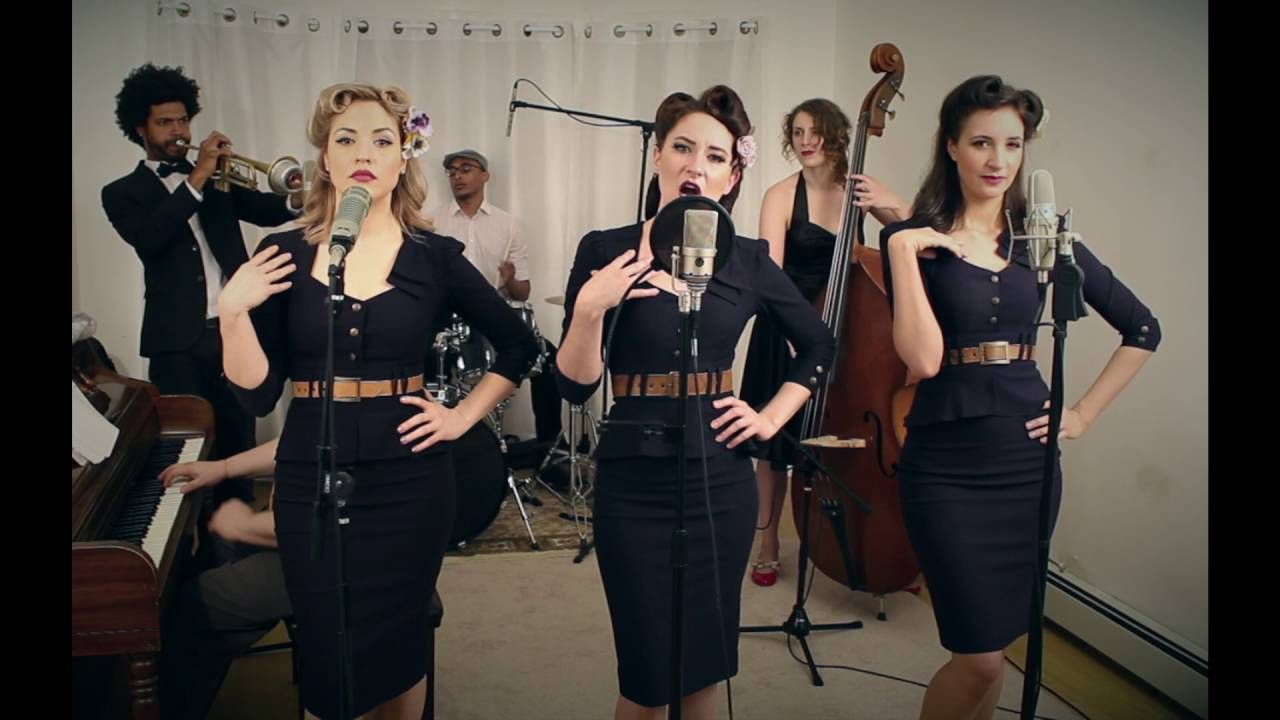 No Scrubs Tlc 1940s Cover By Robyn Adele Anderson Ft The