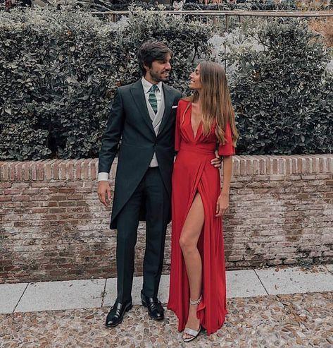 """Guadalupe Salinero on Instagram: """"Me gustan las parejas así de bonitas ❤️ #wedding #weddingday #weddingguest #invitada #invitadaperfecta #boda"""" #weddingguestdress"""