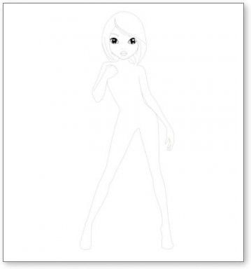 vorlagen - my-designwebsides webseite! | topmodel malbuch