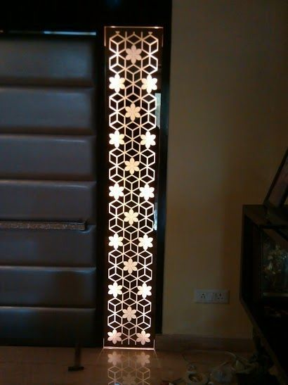Backlit Panel Mashrabiya Pattern Backlit Pinterest
