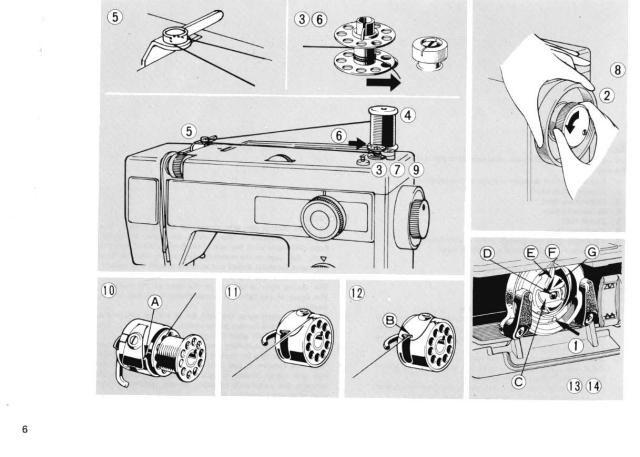 elna 410 sewing machine instruction manual sewing machine manuals rh pinterest com
