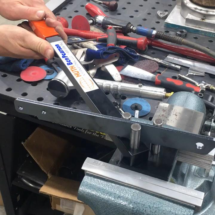 Rod And Bracket Bender Video Metal Bending Tools Welding Tools Metal Working Tools