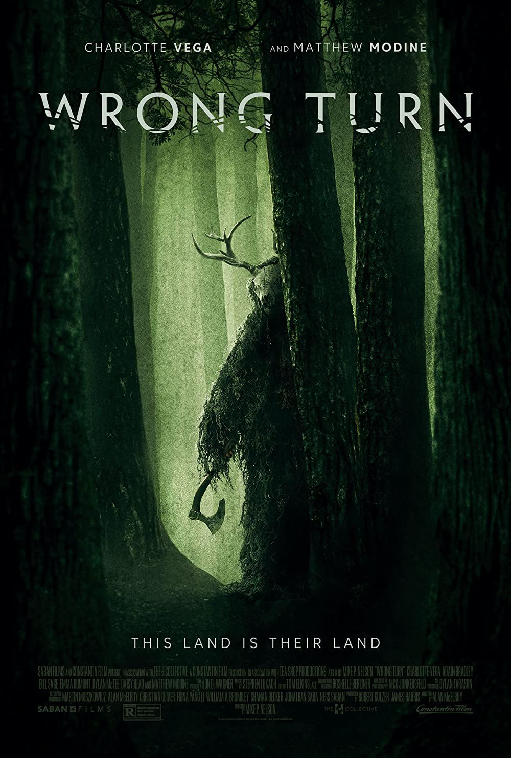 Review Wrong Turn 2021 In 2021 Wrong Turn Horror Movies Turn Ons