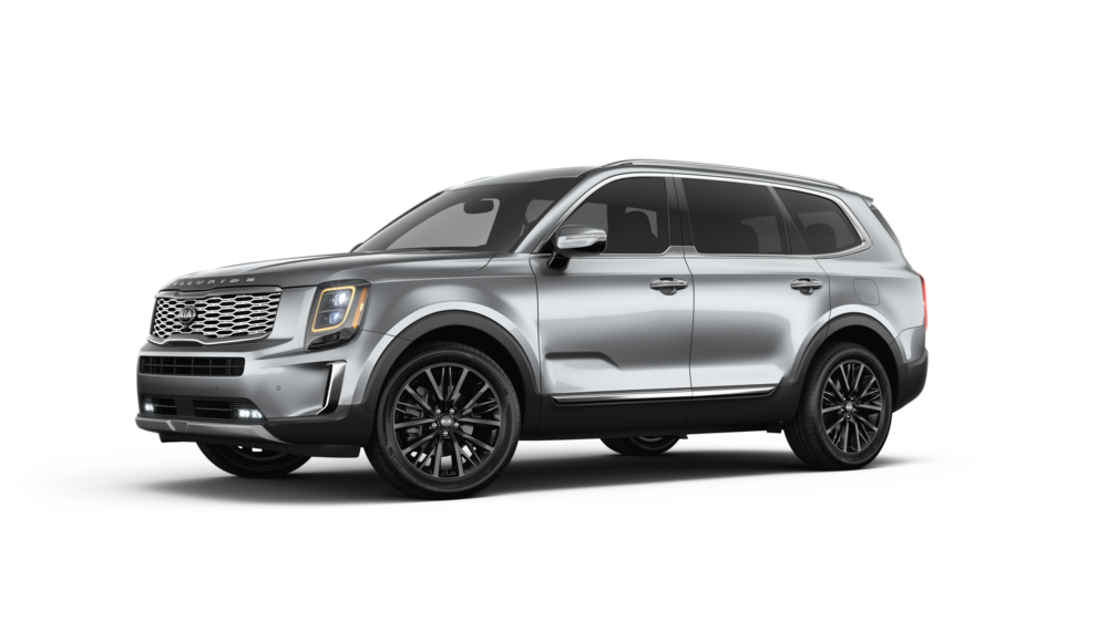 2020 Kia Telluride Everlasting Silver Mid Size Suv Small Luxury Cars Suv