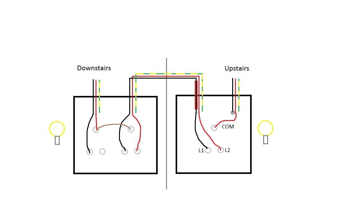 3 Gang Light Switch Wiring Diagram